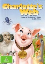 Charlotte's Web (1972 Animated) DVD - Debbie Reynolds - KIDS MOVIE Hebrew