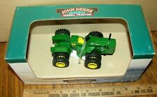 John Deere 8020 Dsl 4WD Tractor 1/43 Spec Cast Toy JDM059 Painted Pewter Duals