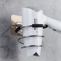 Hair Dryer Rack Storage Organizer Holder Hanger Bathroom Wall Mounted Stand 1AF