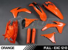 SCRUB plastics kit KTM EXC EXCF 125 150 200 250 300 450 500 '12-'13 2012 - 2013