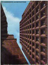 rivista - PROGRESSIVE ARCHITECTURE ANNO 1967 NUMERO 2