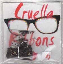 (GQ443) Cruella Ribbons, Sunshine To My Showers / The One - DJ CD