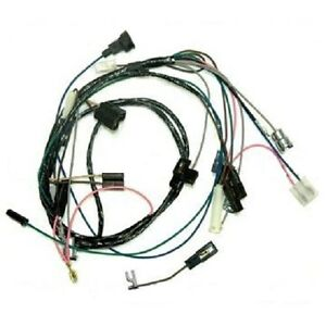 rally gauge adapter wiring harness 4 non gauge 64-67 Pontiac GTO Lemans Tempest