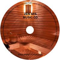 ZEN SPA MUSIC CD - RELAXATION MEDITATION HEALTH-SPA MASSAGE BEAUTY SALON