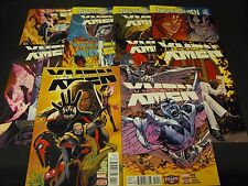 UNCANNY X-MEN 10-19 MARVEL NEW COMIC RUN 10 11 12 13 14 15 16 17 18 19 10 TOTAL
