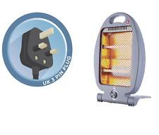 Quartz chauffage électrique 800 W portable 2 Bar halogène radiateurs Home Office-Free p&p
