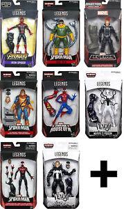 Marvel Legends SPIDER-MAN ACTION FIGURES (ASSORTED) ~ Venom, MCU, Noir, Iron+++
