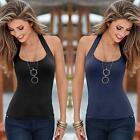Casual Top Hot Vest T-Shirt Sleeveless Tank Tops Summer Blouse Women Sexy