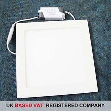 Blanco Cálido Panel LED Luz Cuadrada 24W con Reino Unido FACTURA COMPLETA