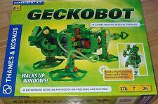 Geckobot Thames & Kosmos Experiment Kit Climbs Wall Physics of Air pressure