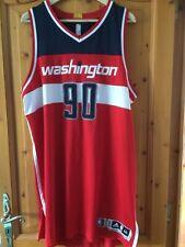 Maillot jersey basket NBA porté game worn Washington Wizards Meigray COA Gooden