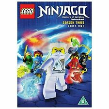 LEGO NINJAGO DVD MASTERS OF SPINJITSU  DVD Season 3 Pt 1 NEW