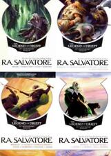 RA Salvatore LEGEND OF DRIZZT 25th Anniversary COMPLETE Series 1-13 in 4 Volumes