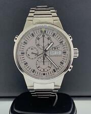 IWC Chrono Rattrapante Stainless Steel Automatic 43mm Day-Date Ref. IW3715