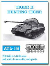 Friulmodel Metal Tracks for 1/35 German Tiger II/Hunting Tiger 210 links ATL-16