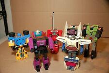 Transformers Powermasters and Headmasters G1 Lot!  Original and Rare!