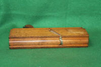 "Fine User Antique Vintage Greenfield Tool 3/4"" Cove Moulding Plane Inv#WF21"
