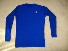 Pre-Owned Under Armour Men'S Blue Long Sleeve Athletic Shirt Size 2Xl