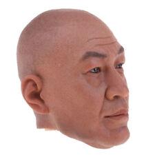 "1:6th Asian Head Sculpt ZHEN ZI DAN+Base For 12/"" Male Toys Action Figure Doll"