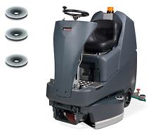 Numatic TTV678/400G Aufsitz Scheuersaugmaschine Reinigungsmaschine + Bürsten