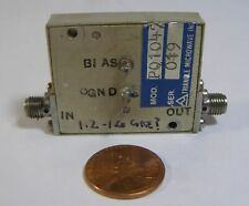 Triangle Microwave Phase Shifter P01047 1.2-1.6MHz SMA