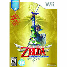 The Legend of Zelda: Skyward Sword -- Limited Edition (Nintendo Wii, 2011) UK VE