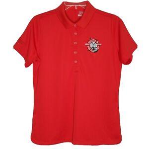 Nike Tour Performance Womens L Golf Polo Shirt Dri-Fit Monday Masters Hootie