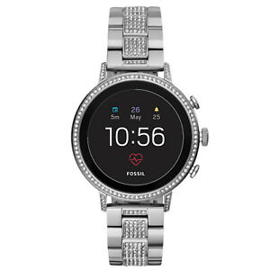 FOSSIL Venture HR Gen 4 40mm Stainless Steel Smartwatch GPS Call Text 14cm Band