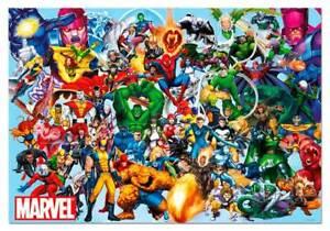 PUZZLE INFANTIL SUPER HEROES MARVEL PUZZLE 1000 PIEZAS EDUCA 15193 MARVEL HEROES