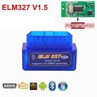 Super Mini ELM327 v1.5 OBD2 Bluetooth Adapter Scanner für DREHMOMENT ANDROID 25K
