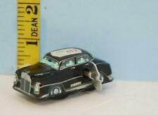 Vintage Toy Tin Wind Up Mercedes Benz Police Car Made in Japan