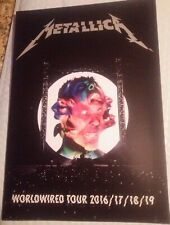 Metallica 2019 Tour Program