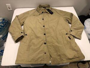 NWT $448.00 Polo Ralph Lauren Mens Commuter Trench Overcoat Beige Size 2XB