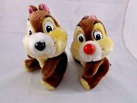 "Disney Chip 'n Dale Plush 9"" Lot Stuffed Animal toy"