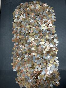 50 Pounds Of Mixed World Coins- Lot 376