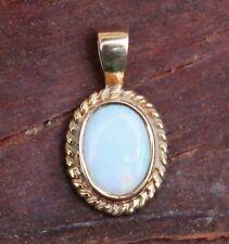 Opal pendant white gold vintage antique jewellery ebay vintage 9ct pendant gold opal jewellery jewelry 9 carat 9k necklace small white aloadofball Images
