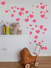 Various size Heart Love Wall Stickers Kid Decal Art Nursery Bedroom Vinyl Decals