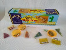 bead loom kit, american indian, with various seed beads, fish purse kit etc