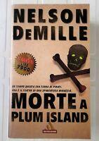 Morte A Plum Island Nelson DeMille Arnoldo Mondadori Editore romanzo poliziesco