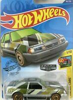 Hot Wheels 2020 Zamac '92 Ford Mustang Art cars VHTF Walmart Exclusive NEW