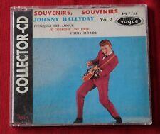 Johnny Hallyday, souvenirs souvenirs + 3, Maxi CD