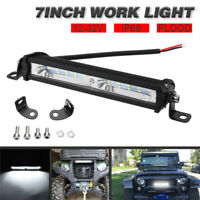 7''inch 50W LED Work Light Bar Flood Beam Offroad ATV Driving Lamp Car Truck 4WD