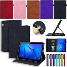 """For Huawei MediaPad T3 10 9.6"""" inch T5 10.0 10.1"""" Leather Case Tablet Flip Cover"""