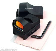 "Hunting Micro Reflex 3 MOA Red Dot Sight Rifle Scope Weaver Picatinny Rail 7/8"""