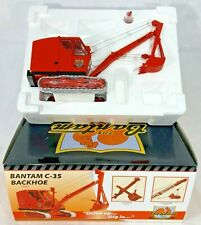 SpecCast Collectibles Schield Bantam Company C-35 Backhoe 1/25 Scale Toy Tractor