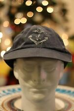 Vintage Polo Ralph Lauren Rugby Anchor Fitted Long Bill Hat L/XL NWT