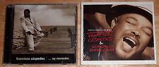 Francisco Cespedes 2 cd Ay Corazon/& Gonzalo Rubal Caba CON EL PERMISO DE BOLA