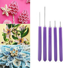 5Pcs/Set Multifunction Quilling Slotted Tools Paper Quilling Scrapbook Craft Kit