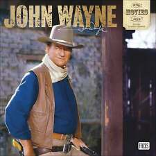 John Wayne in the Movies Calendar 2019 Entertainment Month To View