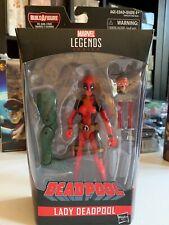 New Hasbro Marvel Legends BAF (Sauron) Lady Deadpool 6 Inch Action Figure